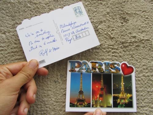 COP21 Paris mobilisation, Rolf & Maria