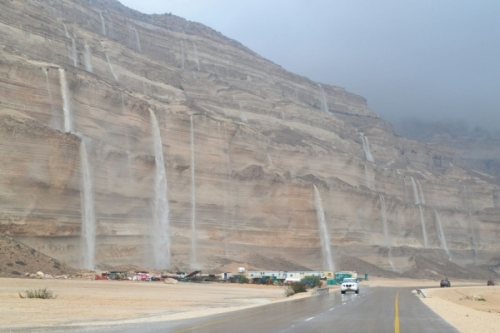 Rain in the desert - Cyclone Chapala, Oman
